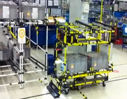 Agv Indeva Automated Guided Vehicle For Lean