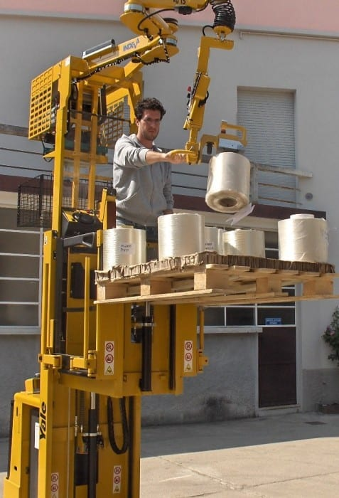 manipulators for tire production plants