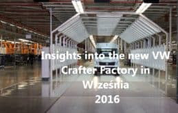 Volkswagen Crafter van assembly line