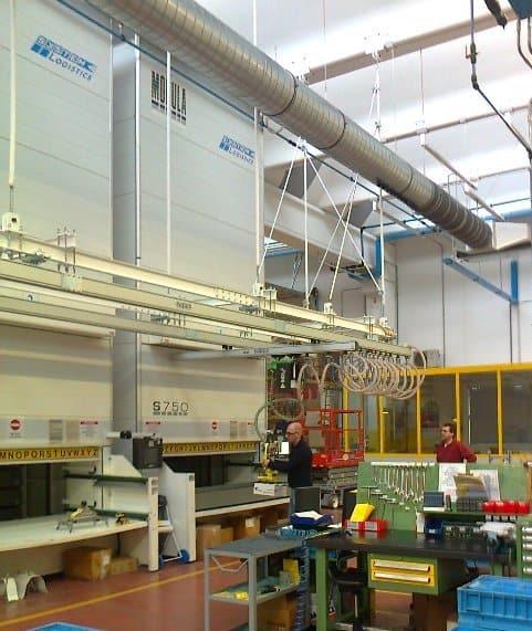 movimentazione merci da magazzino automatico verticale