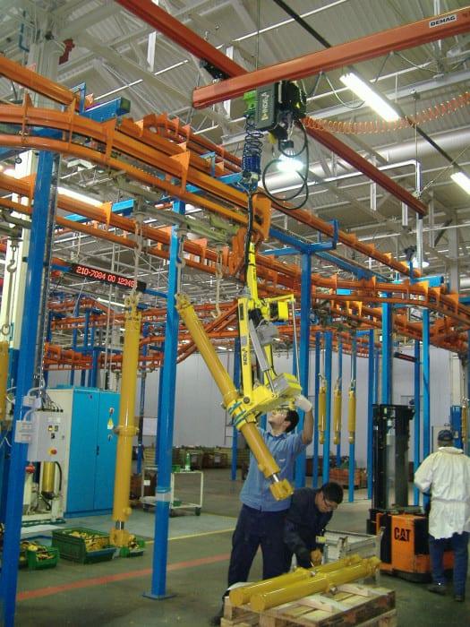 Ergonomie a bezpečnost manuálních přesunů hydraulických válců