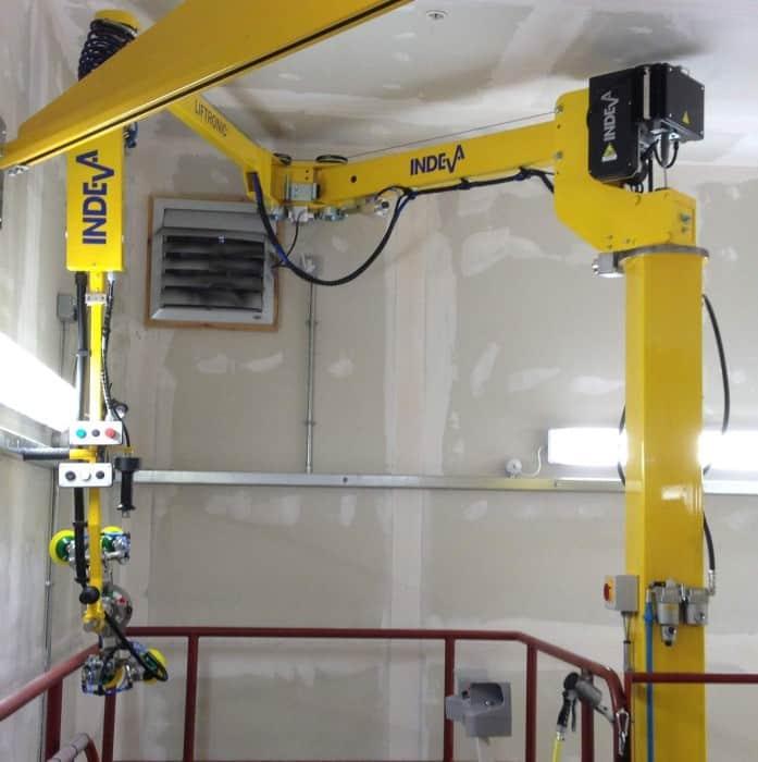 Intelligent Assist Device INDEVA manipulators at Rolls-Royce