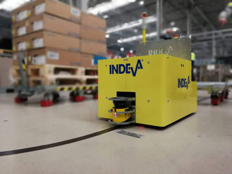 AGV Automated Guided Vehicles
