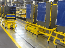 AGV Tunnel - automatic guided vehicles