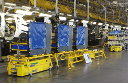 Tunnel AGV assembly line