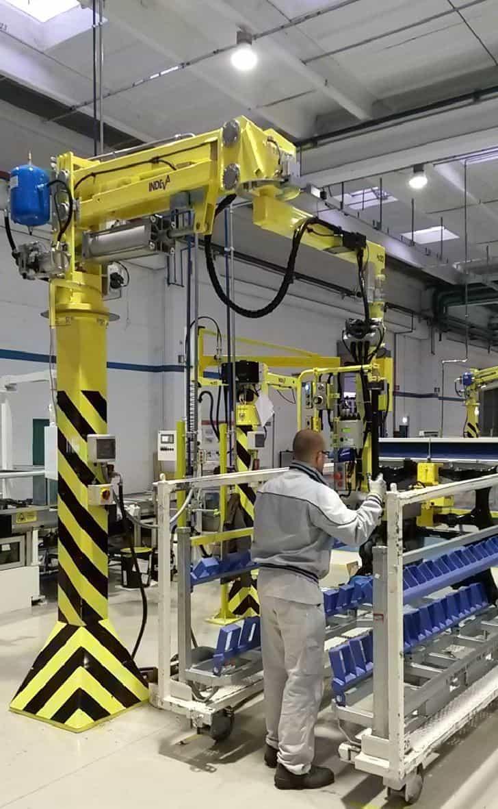 8059 PN Ergo Column mounted
