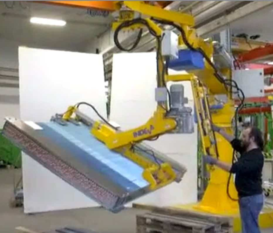 Industrial Radiators Handling With A Pn Ergo