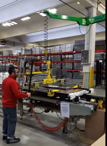 zero gravity handling of large armored doors