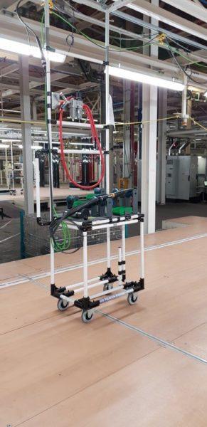 Indeva Lean System Work station trolley