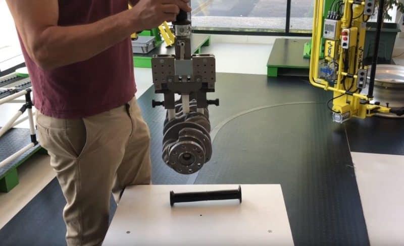 mechanical chuck for motor shafts