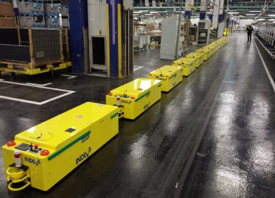 AGV for Automotive industry