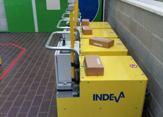 INDEVA® AGV for moving household appliances