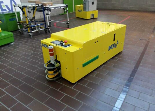 AGV for electronics industry
