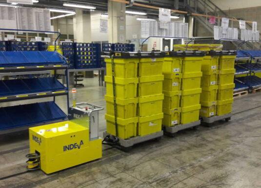 AGV for warehousing and logistics